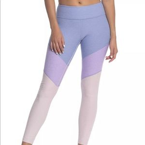 NWT Outdoor Voices Springs 7/8 Colorblock Leggings